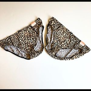 2 NWT Cacique Hipster Animal Print Panties 18/20